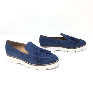 NIB Franco Sarto Lapis Blue Tammis Platform Shoe 5